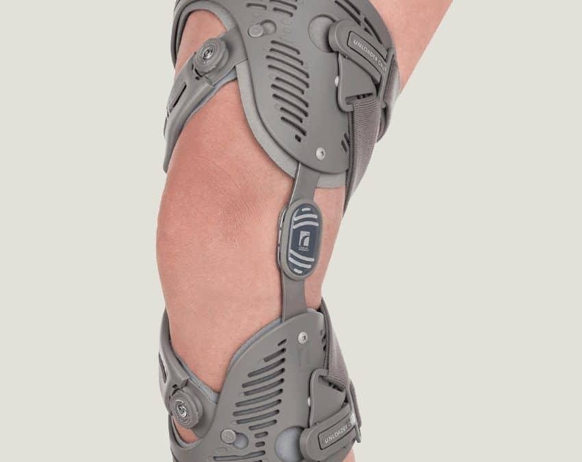 Unloading knee brace is cost-effective.